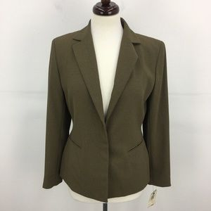 NWT Alfani Olive Green Blazer Jacket
